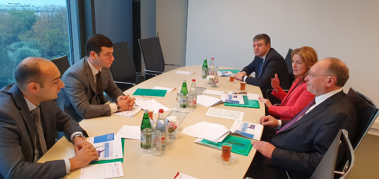 Discussions were held on the possibilities of using business navigator in Azerbaijan