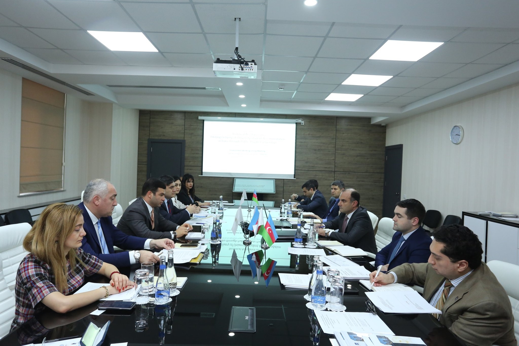 Meeting of the Working Group established within the framework of the Public-Private Partnership was held