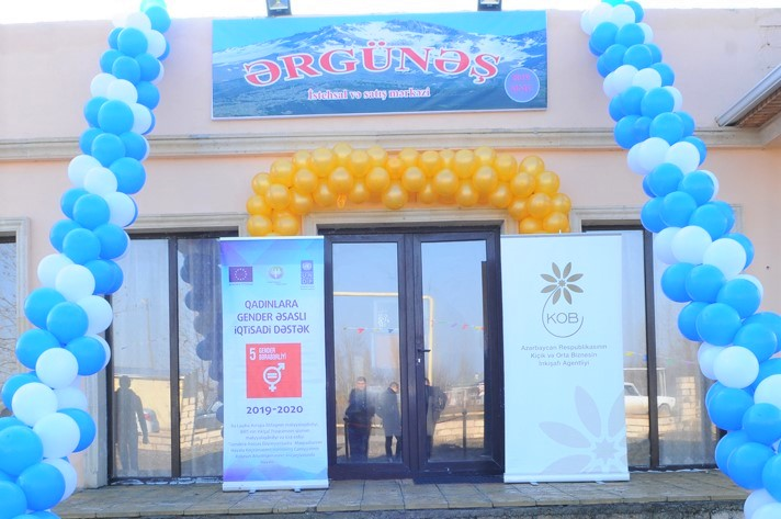 Business areas for IDP women have been created in Fuzuli region