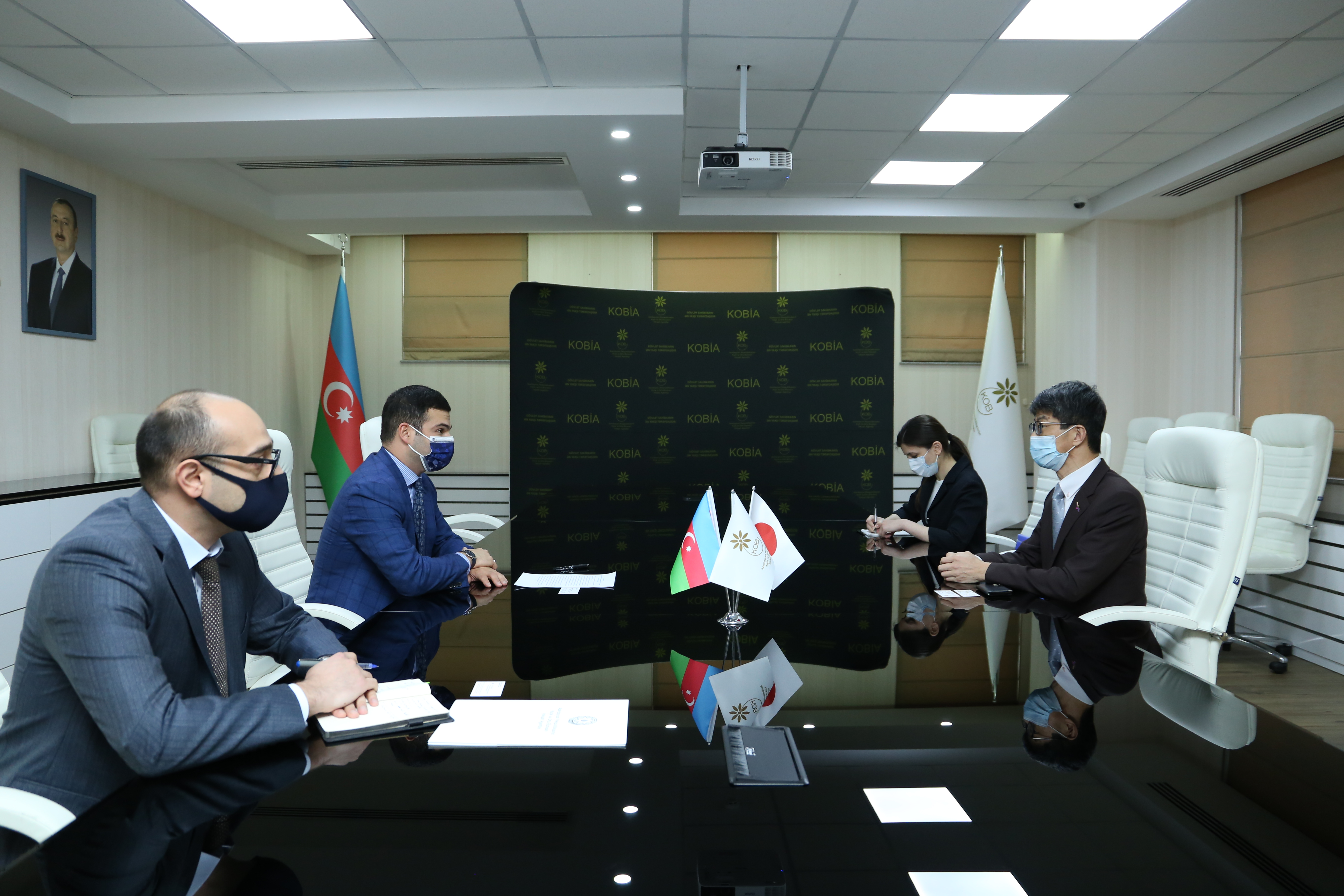 Japanese Ambassador to Azerbaijan visited SMBDA