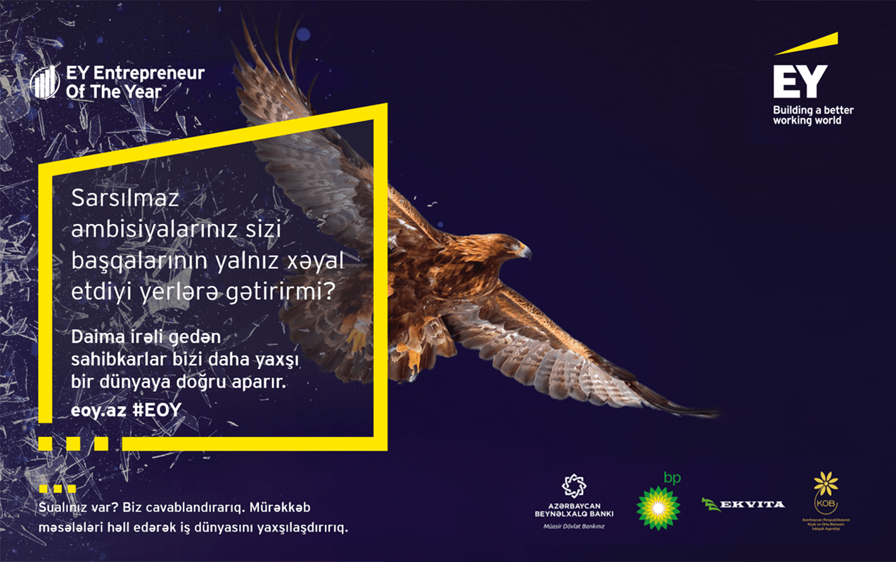 EY Azerbaijan Announces the Winner of the 'EY Entrepreneur Of The Year™' Competition
