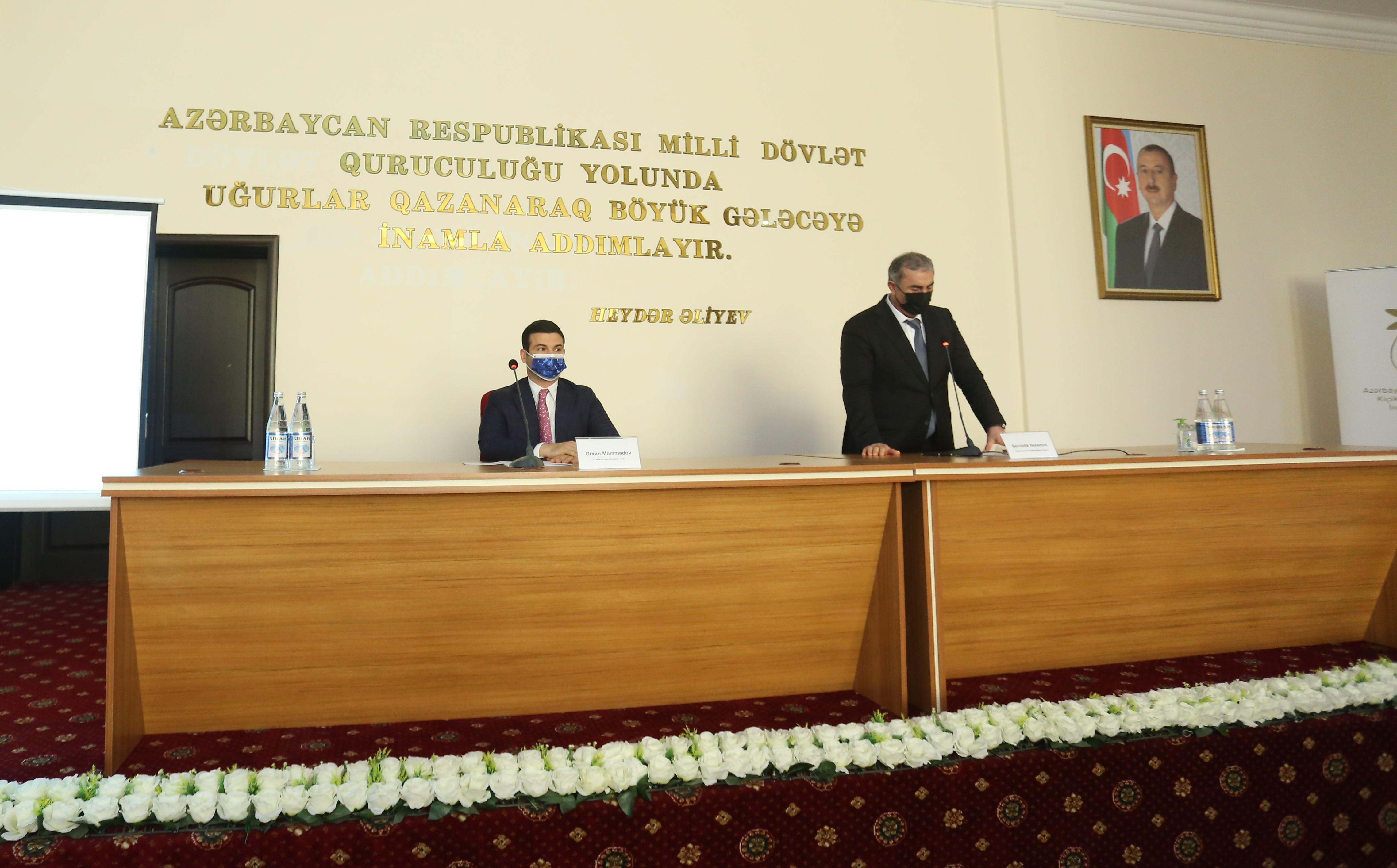 Открыты «Друзья МСБ» в Сальянах и Сабирабаде