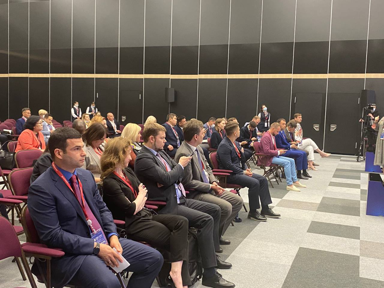 SMBDA is represented at the 24th St. Petersburg International Economic Forum