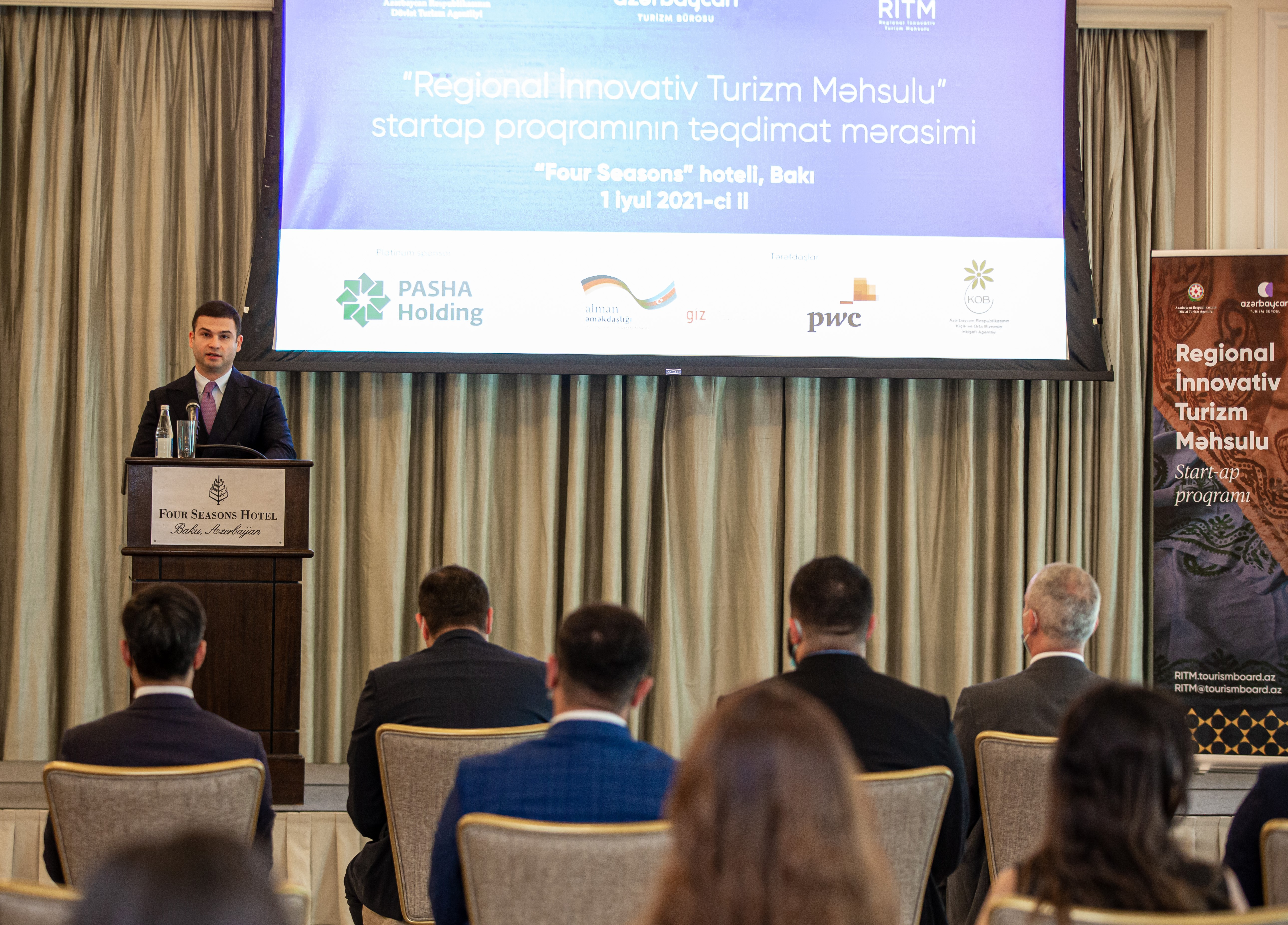 The RITP program aimed at developing regional tourism was presented to the public
