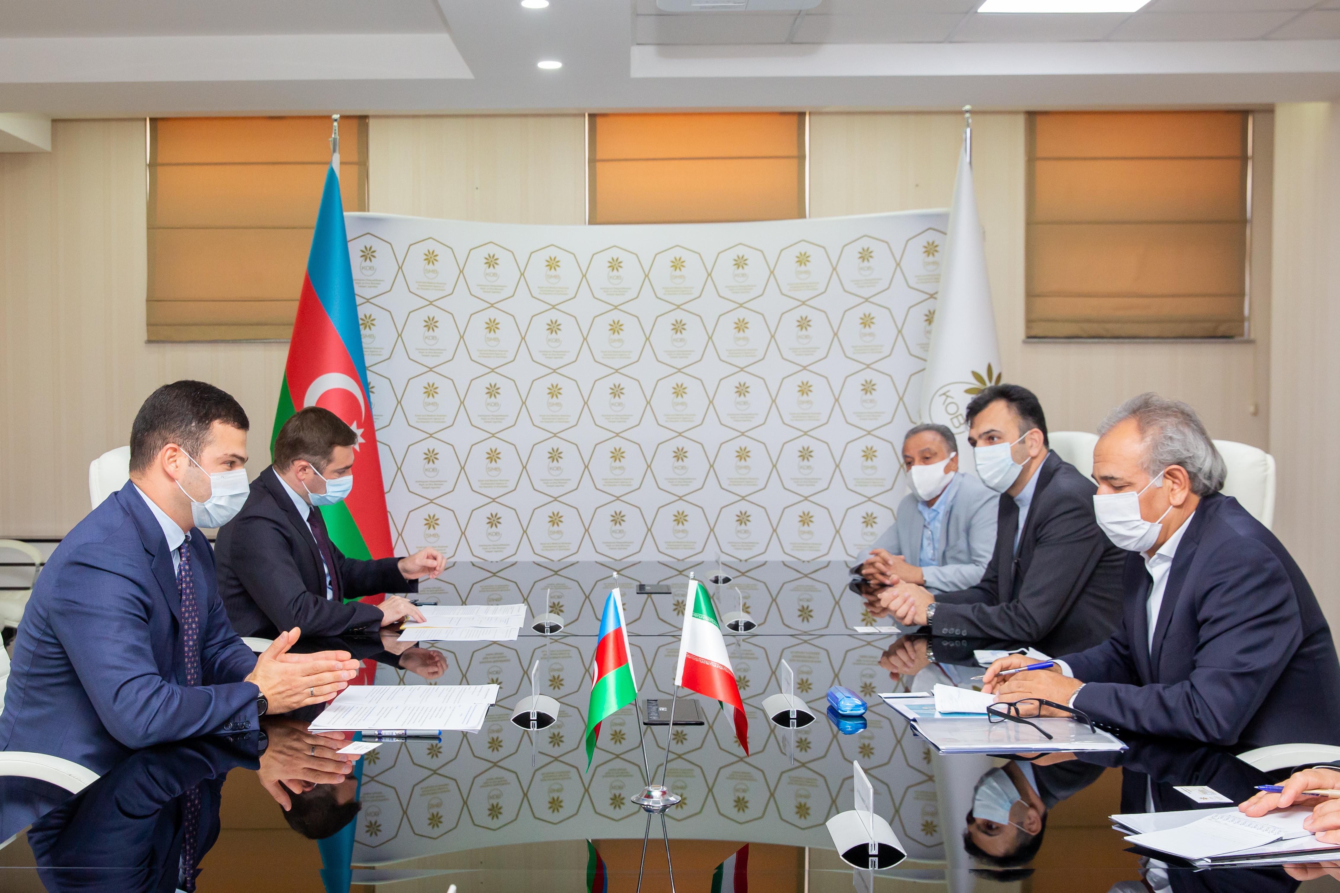 Делегация Иранской провинции Восточный Азербайджан посетила АРМСБ