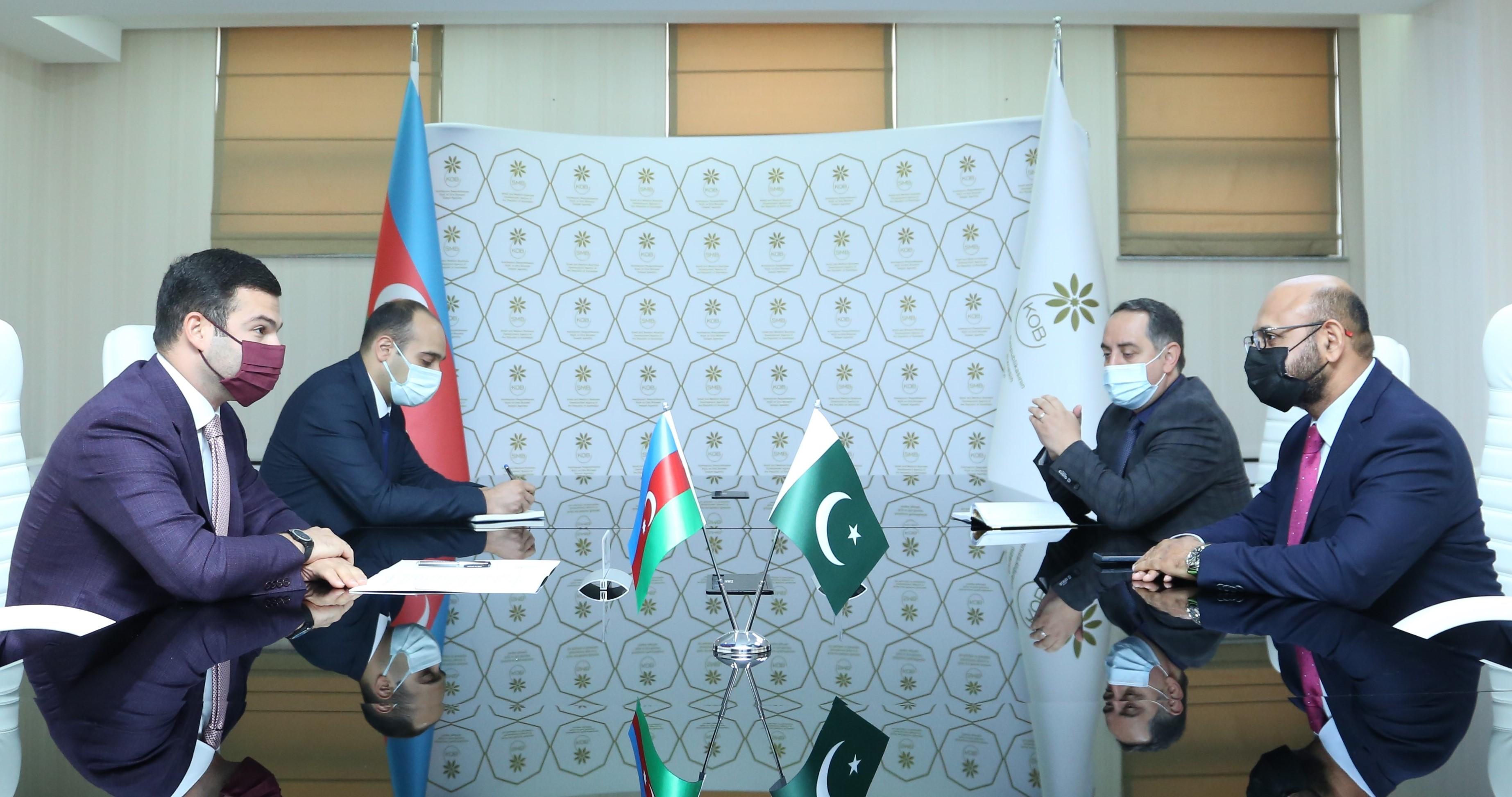 АРМСБ будет сотрудничать с Пакистано-Азербайджанской Палатой Экономического Сотрудничества
