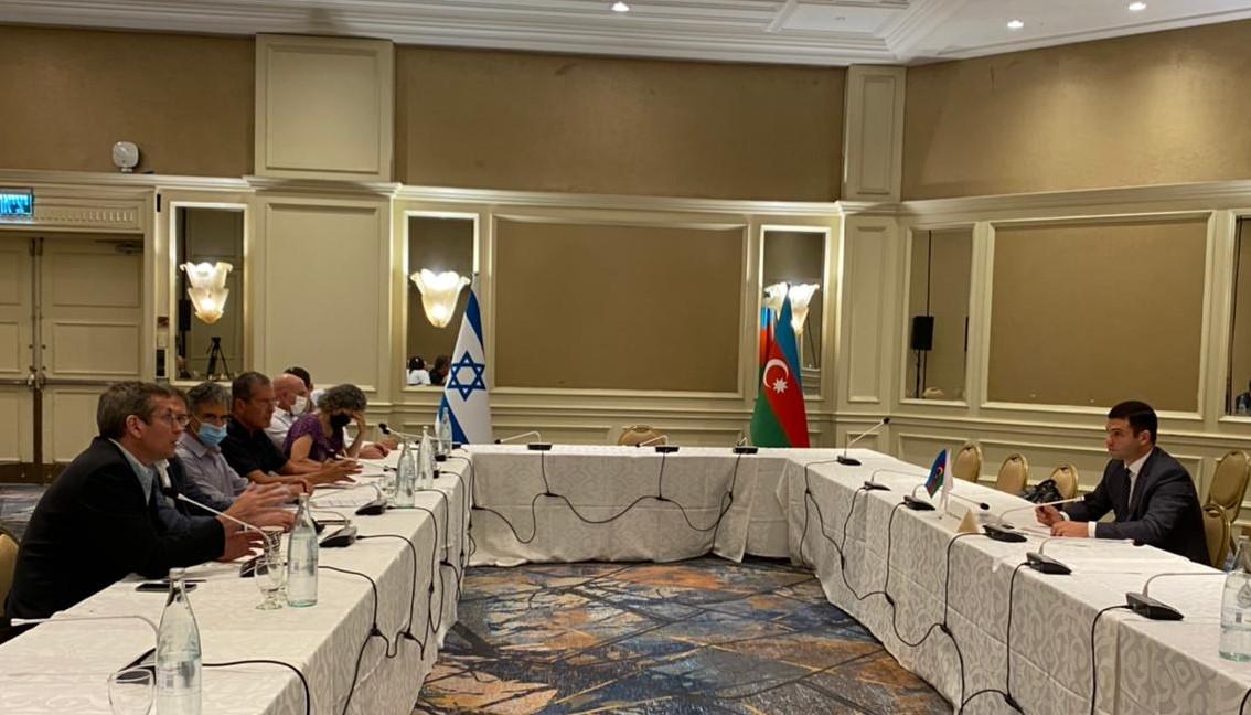 Состоялась встреча с Израильскими бизнесменами