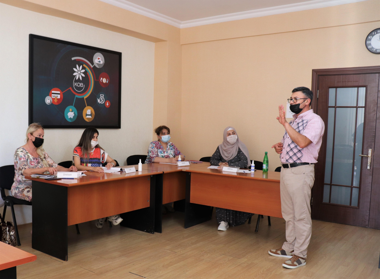 """Завершились тренинги с первой группой участников проекта """"Моя школа"""""""