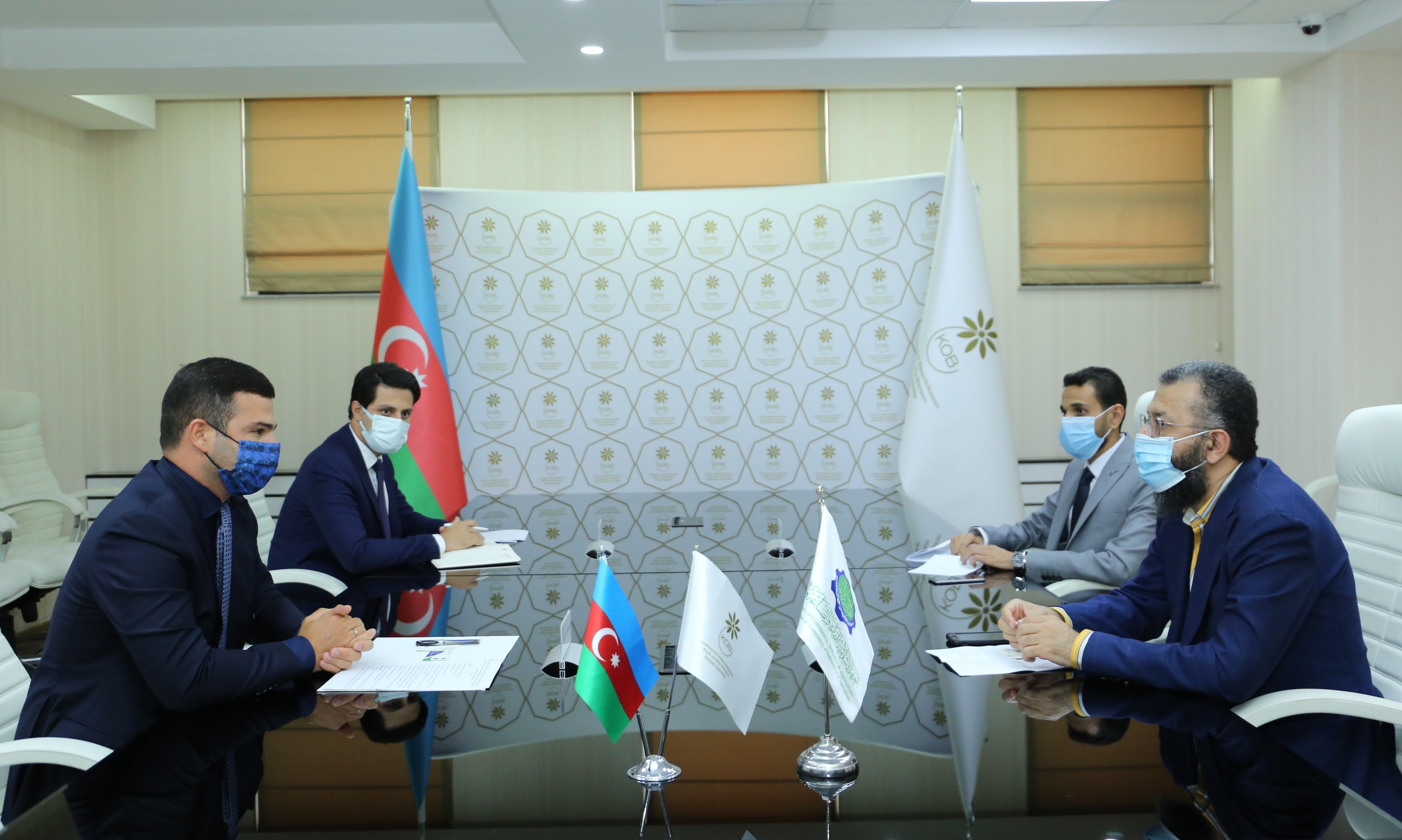 Генеральный секретарь Исламской Палаты Торговли, Промышленности и Сельского Хозяйства посетил АРМСБ