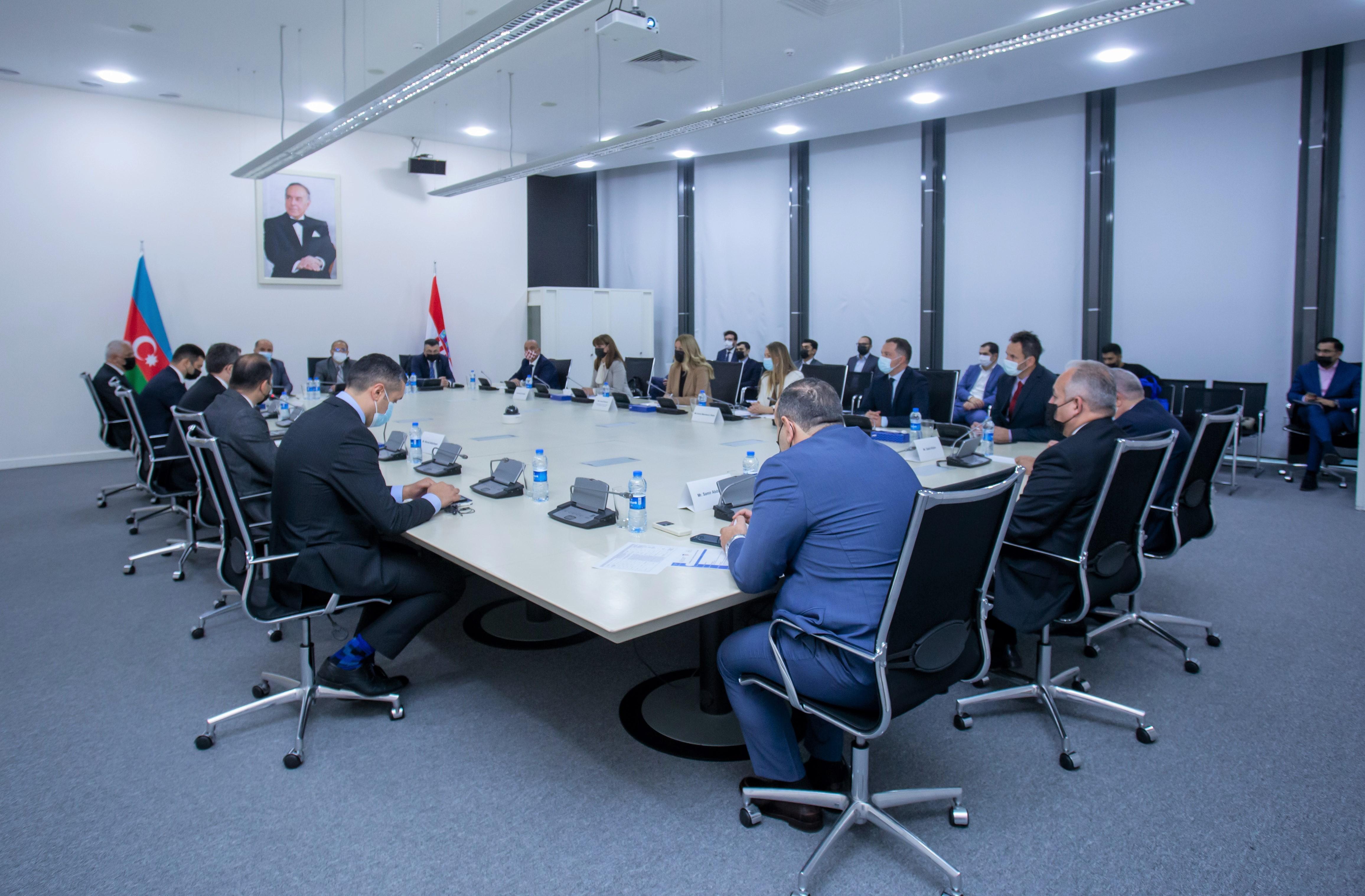 KOBİA Azərbaycan-Xorvatiya biznes forumunda iştirak edib