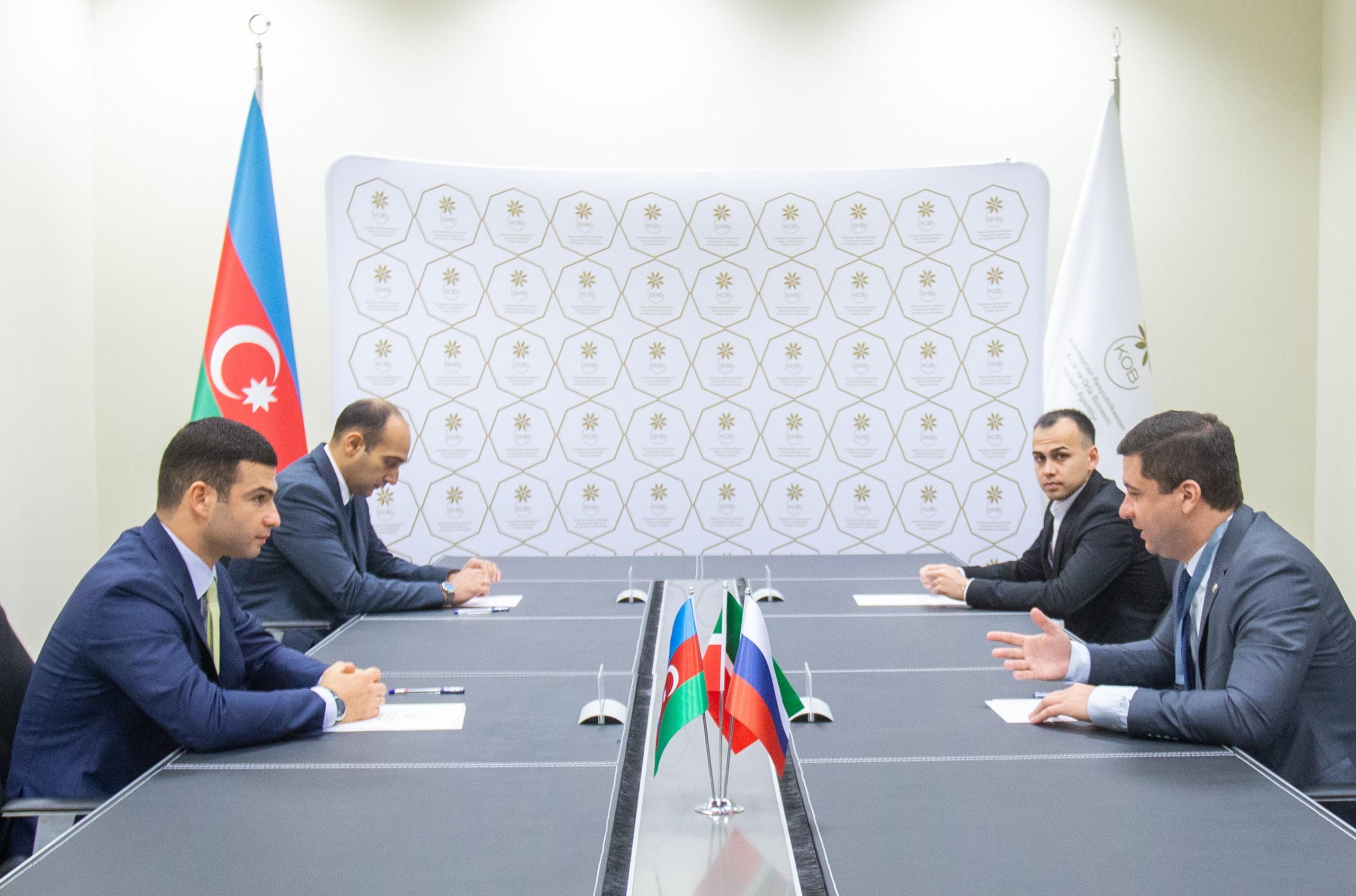 Azərbaycan və Tatarıstanın işgüzar dairələri arasında əməkdaşlıq perspektivləri müzakirə edilib